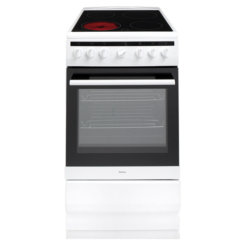 508CE2MSW 50cm freestanding electric cooker with ceramic hob