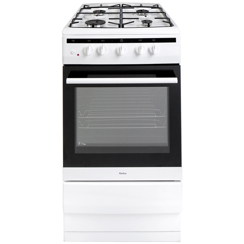 508GG5W 50cm freestanding gas cooker, white