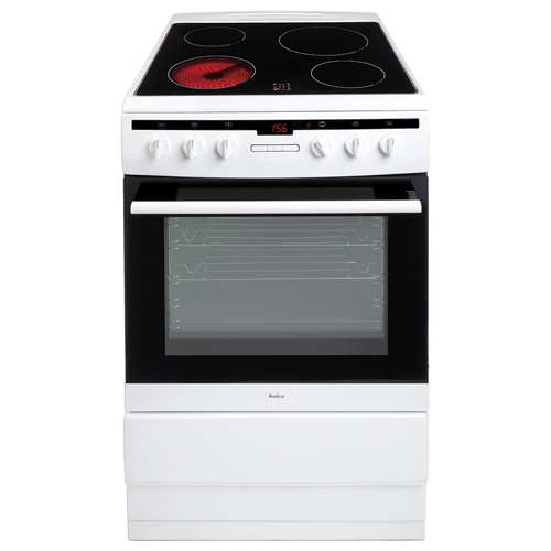 608CE2TAW 60cm freestanding electric cooker with ceramic hob
