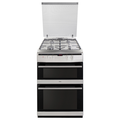 608DGG2TSXXX 60cm freestanding gas double oven, stainless steel