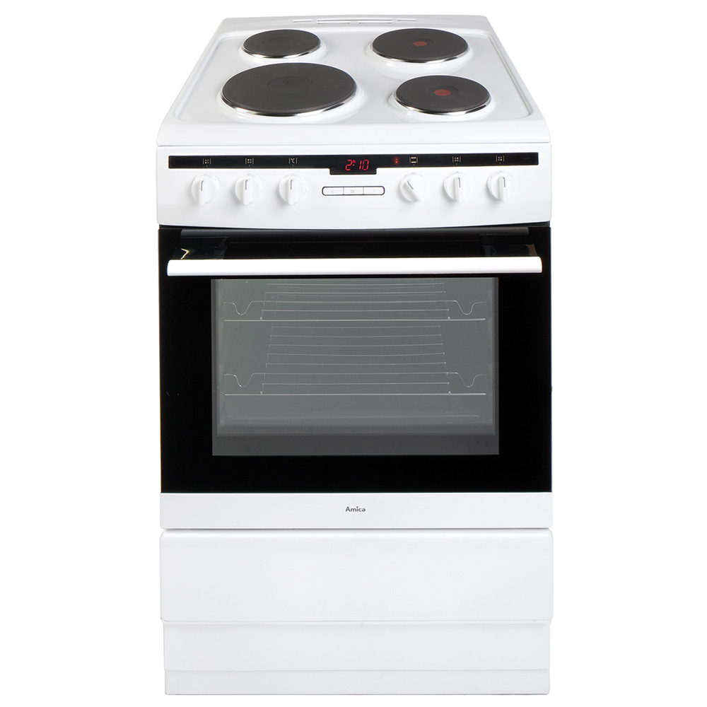 Electric Cookers Freestanding ~ Ee taw cm freestanding electric cooker amica uk