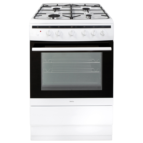 608GG5MSW 60cm freestanding gas cooker, white Main