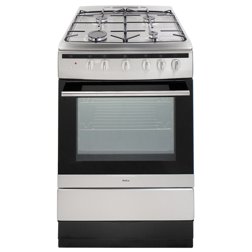 608GG5MSXX 60cm freestanding gas cooker, stainless steel