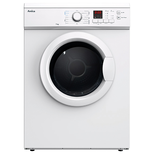ADV7CLCW 7kg freestanding vented tumble dryer, white