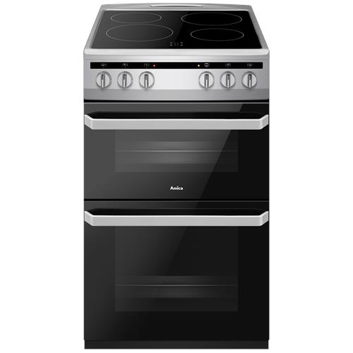 AFC5100SI 50cm freestanding electric twin cavity with ceramic hob