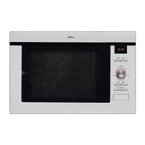 AMM25BI Built-in microwave oven and grill, stainless steel