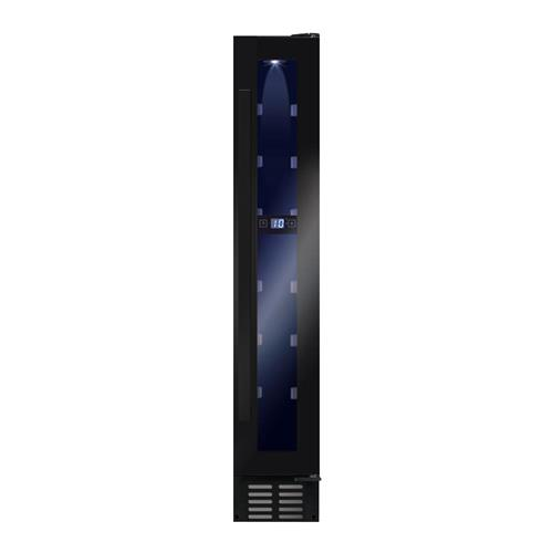 AWC151BL  Freestanding/ under counter slimline wine cooler