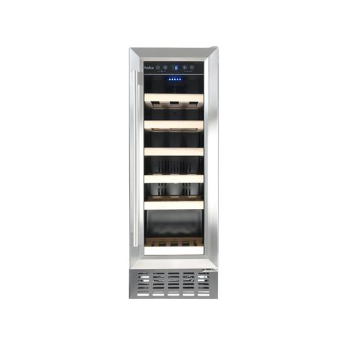 AWC300SS Freestanding/ under counter slimline wine cooler