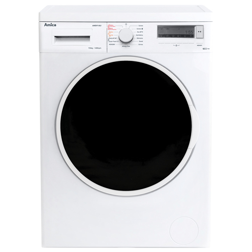 AWDI914DG 9kg 1400 spin freestanding washer dryer, white Main