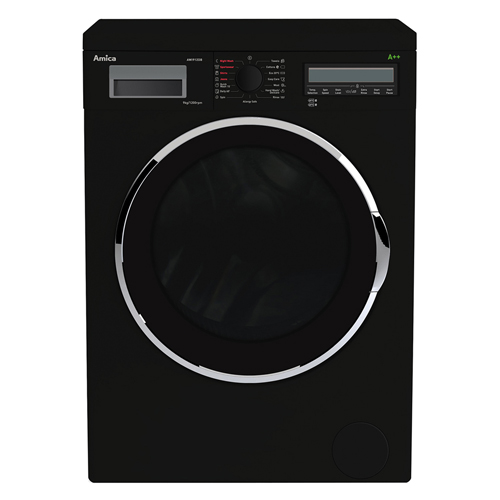 AWI912DB 9kg 1200 spin freestanding washing machine, black