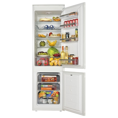 BK3163 54cm integrated 70/30 fridge freezer