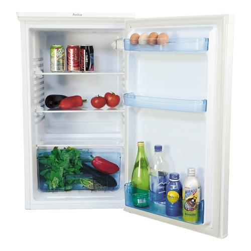 FC1284 48cm freestanding undercounter larder fridge, white