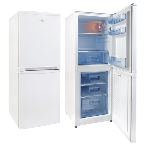 FK1964 50cm freestanding 50/50 fridge freezer, white