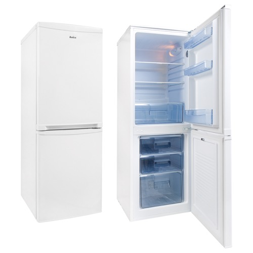 FK1974 50cm freestanding 50/50 fridge freezer, white Main