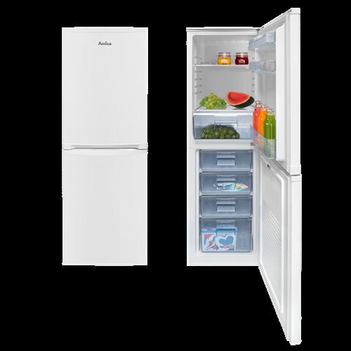 FK1984 50cm freestanding 50/50 fridge freezer, white Main