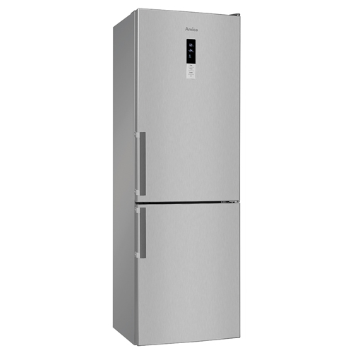 FK3213DFX 60cm freestanding frost-free fridge freezer, stainless steel Main