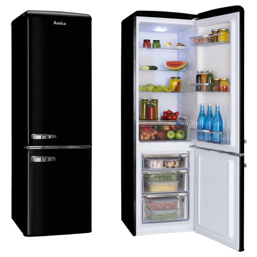 FKR29653B 55cm freestanding static 60/40 fridge freezer