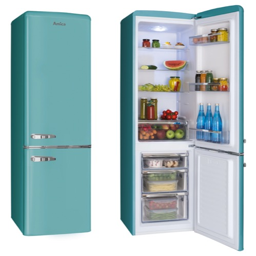 FKR29653DEB 55cm freestanding static 60/40 fridge freezer