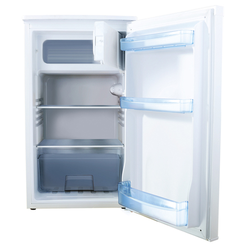 FM1044 Freestanding/ under counter fridge with ice box