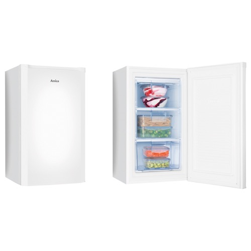FZ1334 55cm freestanding undercounter freezer, white