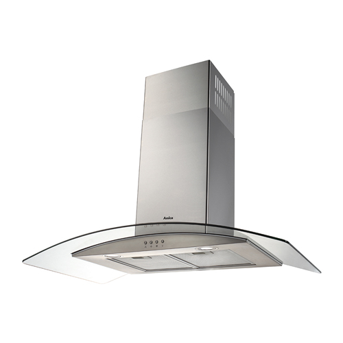 OKP9321G 90cm curved glass extractor