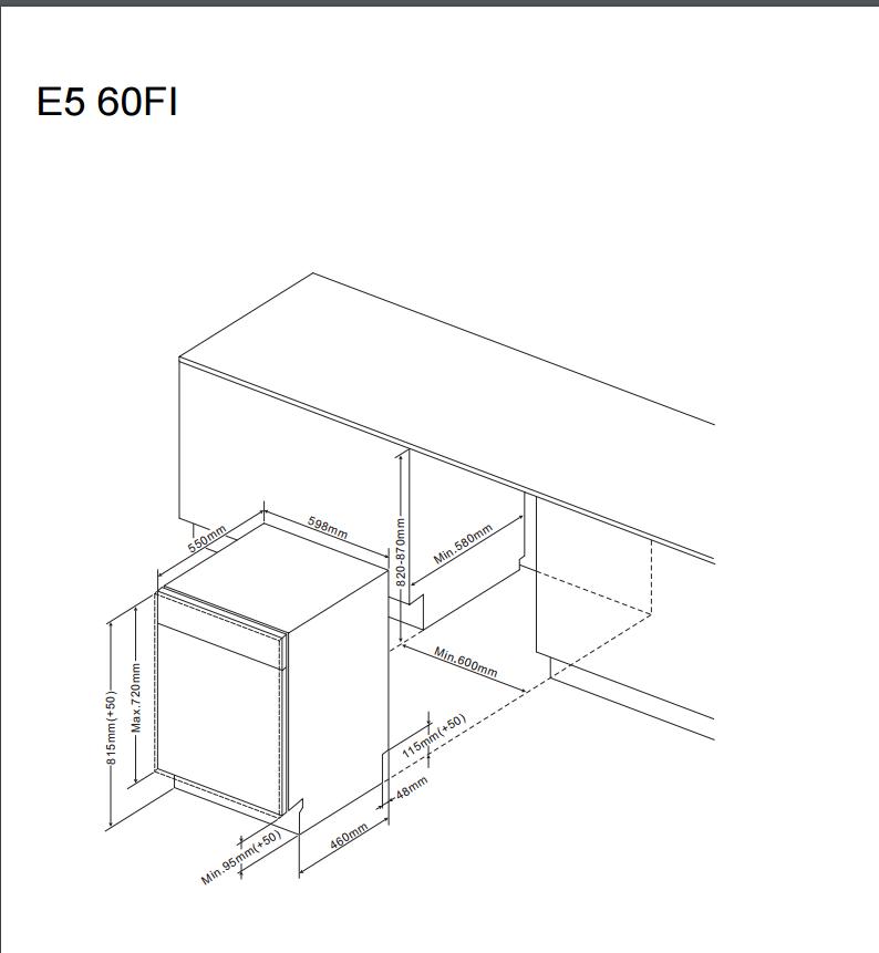 ZIV635 60cm integrated dishwasher Alternative (0)