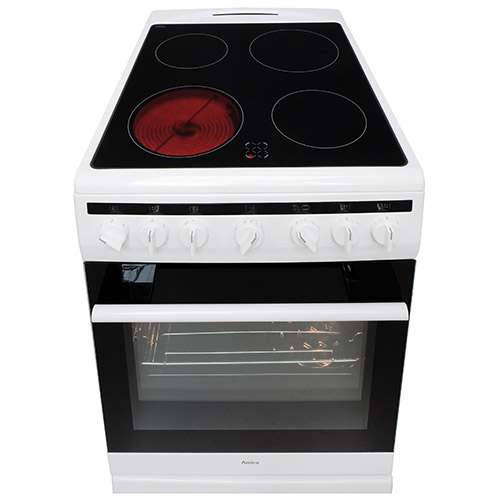 508CE2MSW 50cm freestanding electric cooker with ceramic hob, white Alternative (3)