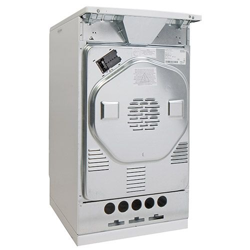 508EE1W 50cm freestanding electric cooker with electric plate hob, white Alternative (1)