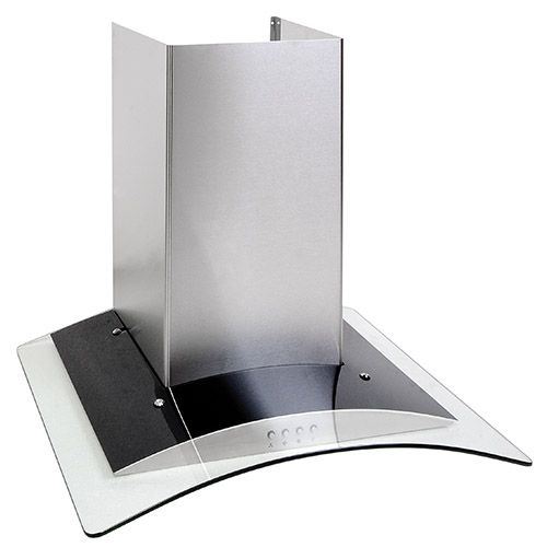OKP6321G 60cm curved glass extractor, stainless steel Alternative (1)