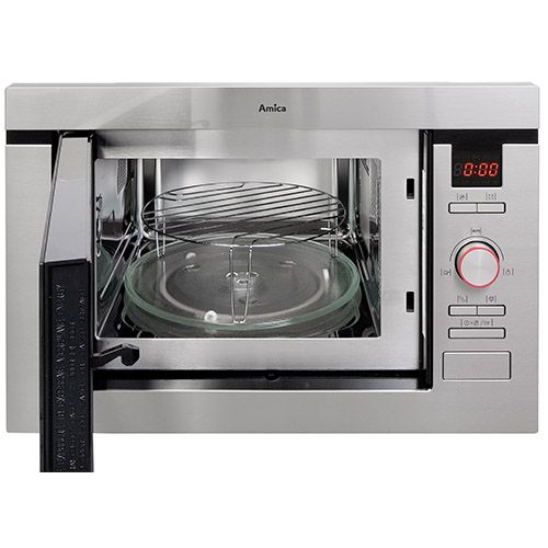 AMM25BI Built-in microwave oven and grill, stainless steel  Alternative (0)