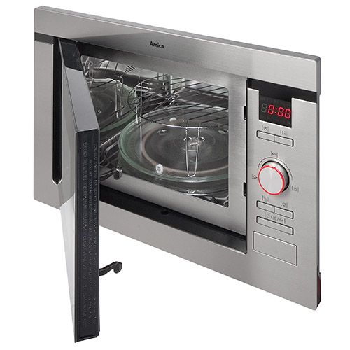 AMM25BI Built-in microwave oven and grill, stainless steel  Alternative (2)