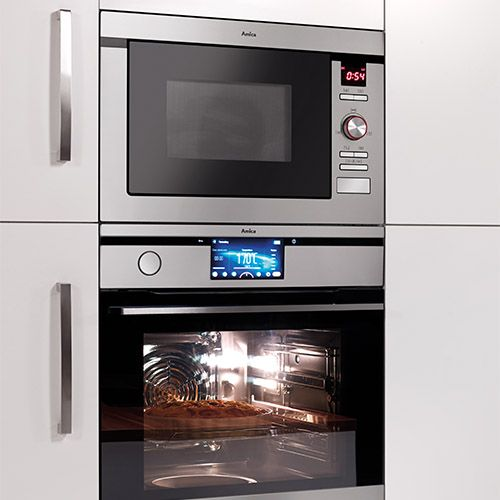 AMM25BI Built-in microwave oven and grill, stainless steel  Alternative (3)