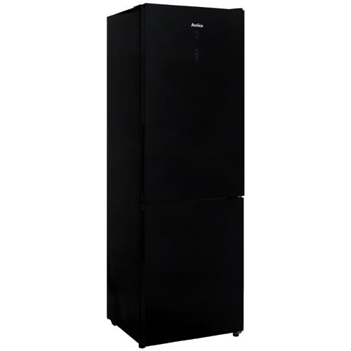 FK3216GBDF 60cm freestanding frost-free 70/30 fridge freezer, black glass Alternative (4)