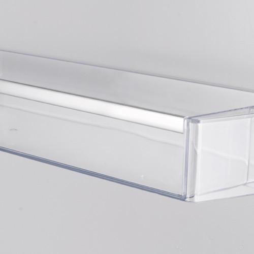 FK3216GBDF 60cm freestanding frost-free 70/30 fridge freezer, black glass Alternative (6)