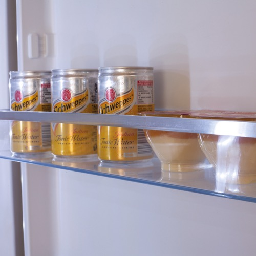 FK3216GBDF 60cm freestanding frost-free 70/30 fridge freezer, black glass Alternative (7)