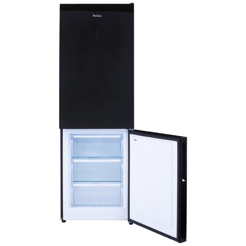 FK3216GBDF 60cm freestanding frost-free 70/30 fridge freezer, black glass Alternative (8)