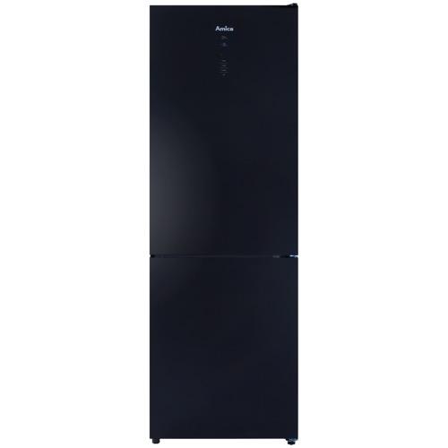 FK3216GBDF 60cm freestanding frost-free 70/30 fridge freezer, black glass Alternative (10)