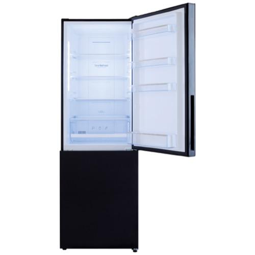 FK3216GBDF 60cm freestanding frost-free 70/30 fridge freezer, black glass Alternative (23)