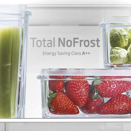 FK3216GBDF 60cm freestanding frost-free 70/30 fridge freezer, black glass Alternative (24)