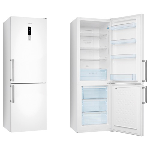 FK3213DF 60cm freestanding frost-free fridge freezer, white Alternative ()