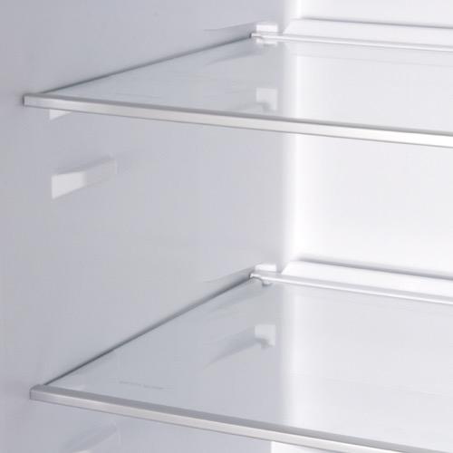 FK3213DFX 60cm freestanding frost-free fridge freezer, stainless steel Alternative (3)
