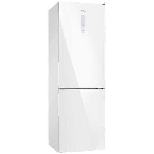 FK3216GWDF 60cm freestanding frost-free 70/30 fridge freezer, white glass Alternative (0)