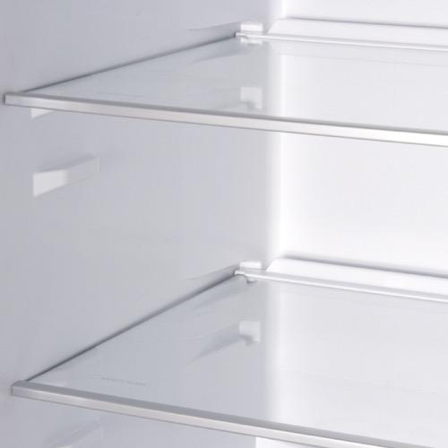 FK3216GWDF 60cm freestanding frost-free 70/30 fridge freezer, white glass Alternative (3)