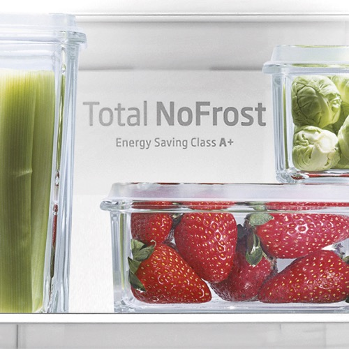 FK3216GWDF 60cm freestanding frost-free 70/30 fridge freezer, white glass Alternative (6)