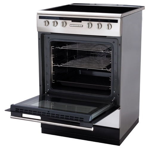 608CE2TAXX 60cm freestanding electric cooker with ceramic hob, stainless steel  Alternative ()