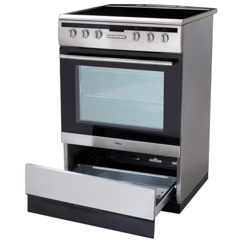 608CE2TAXX 60cm freestanding electric cooker with ceramic hob, stainless steel  Alternative (1)