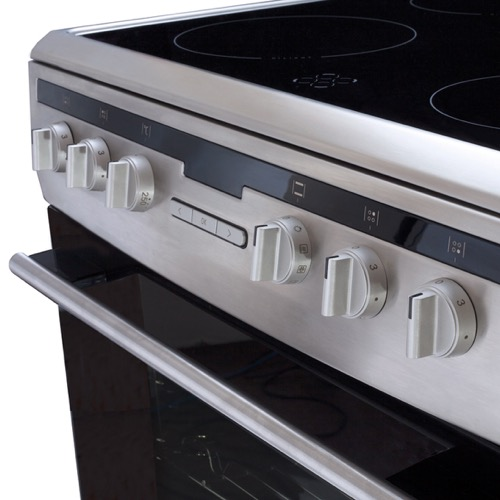 608CE2TAXX 60cm freestanding electric cooker with ceramic hob, stainless steel  Alternative (2)