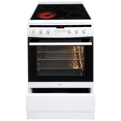 608CE2TAW 60cm freestanding electric cooker with ceramic hob, white Alternative ()