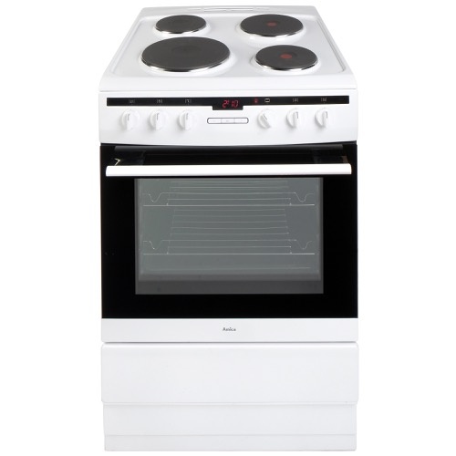 608EE2TAW 60cm freestanding electric cooker with electric plate hob, white Alternative (10)