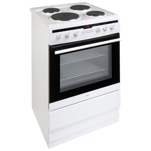 608EE2TAW 60cm freestanding electric cooker with electric plate hob, white Alternative (9)